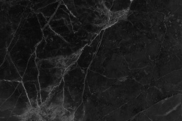 Dark black Marble texture with natural pattern