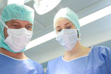 surgeons in the theatre