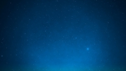 night sky with bright small star and special seeing leonids meteor from northeast on november 18,2017