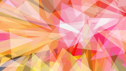 Abstract futuristic background in red yellow and purple  tones. Techno, geometric texture