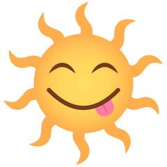 Emoji frech - Sonne