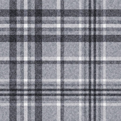 Template of checkered seamless background, plaid fabric, vector background