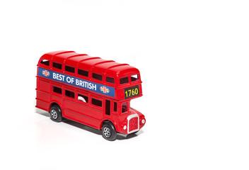 Foto op Aluminium Londen rode bus Red London Doubledecker Bus
