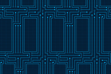 Line circuit abstract technology electricity background design