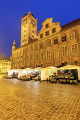 Fototapete - Old Town Hall in Torun