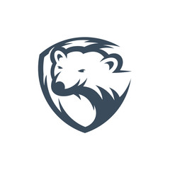 Polar logo template vector illustration