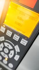 Frequenzumrichter Display