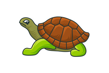 turtle logo template vector illustration