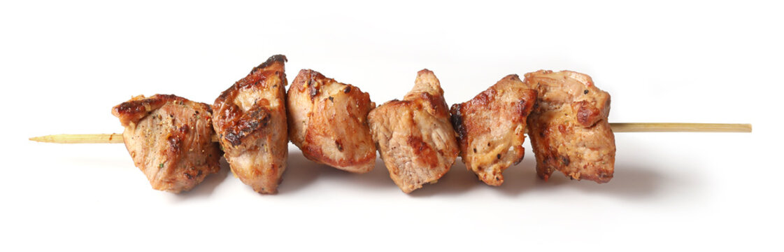 Pork shish kebab
