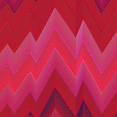 Zigzag red abstract background. Vector EPS 10