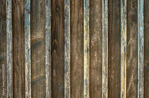 Old wooden fence background texture  Aged rough rustic