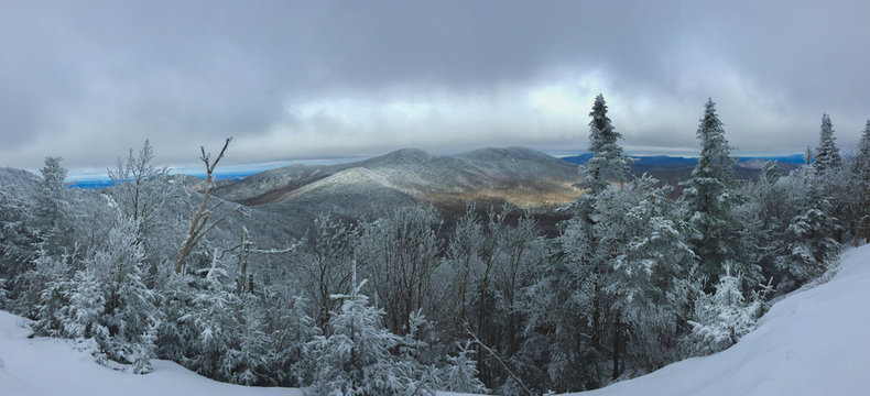 Just another day skiing in the mountain