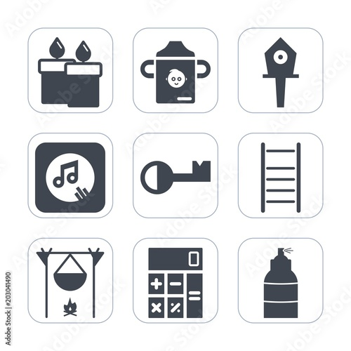 Tremendous Premium Fill Icons Set On White Background Such As Light Download Free Architecture Designs Lukepmadebymaigaardcom