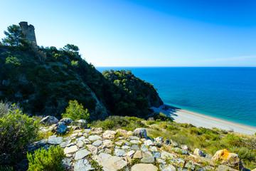 Playa del Pino, Nerja, Andalusia, Spain