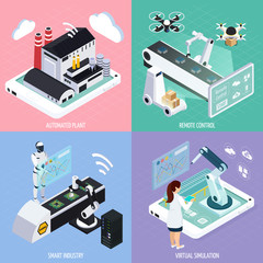 Smart Industry Design Concept