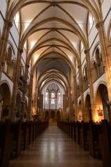 Innenansicht der Stadtpfarrkirche St. Maria (Landau in der Pfalz)