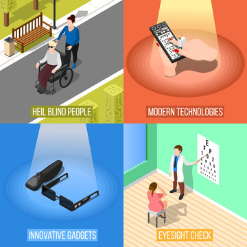 Blind People Design Concept