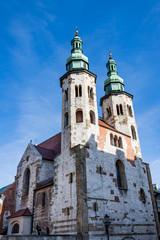 L'église Saint-Andrew de Cracovie