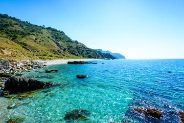Playa de las Alberquillas, Nerja, Andalusia, Spain
