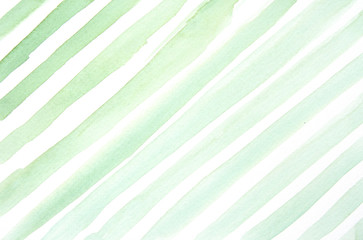 Straight green watercolor background