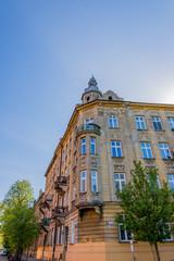 Dans les rues de la Vieille Ville de Cracovie