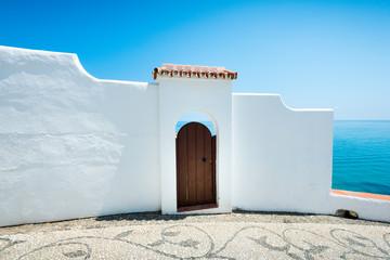 Playa del Salon, Nerja, Andalusia, Spain