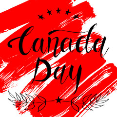 Canada Day design card