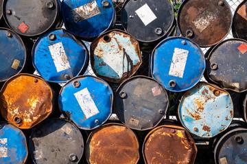 Old Oil Tanks