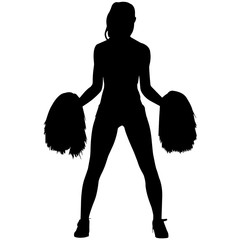 Girls Cheerleading silhouette, Girl Cheerleading clipart, Cheerleading sports vector, Cheerleader Svg, png, eps,   jpg