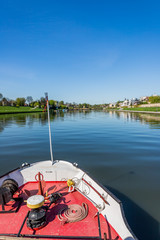 Balade en bateau sur Le Vistule