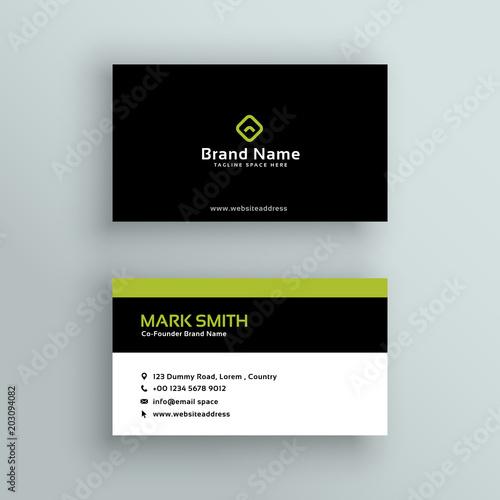 Elegant modern business card vector design imagens e vetores de elegant modern business card vector design reheart Gallery