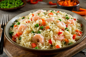 Shrimp Rice Pilaf