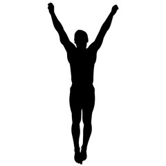 Man Diving silhouette, Male Diver clipart, Boy sports olympics vector, Boys Svg, png, eps,   jpg