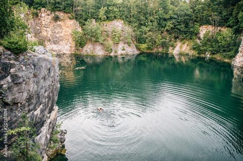 Swimming in Quarry