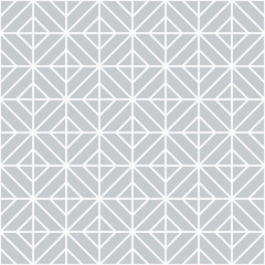 Simple floor tile pattern, abstract geometric seamless background. Portuguese ceramic tiles vector illustration.