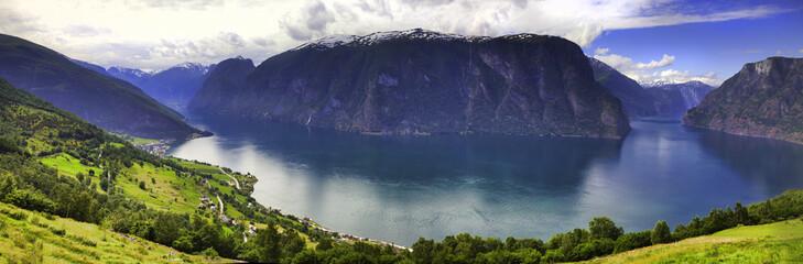 Stegastein viewpoint in Aurland, Norway
