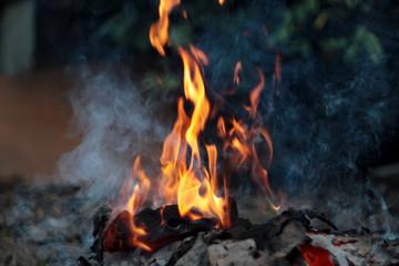 Fire, burning fire