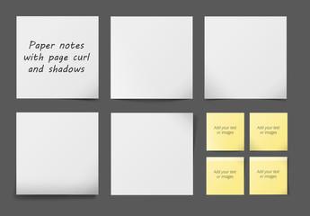 6 Sticky Note Layouts