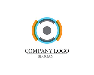 Business abstract logo design template icons app