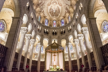 Basilica of Sainte-Anne-de-BeauprÈ, Quebec