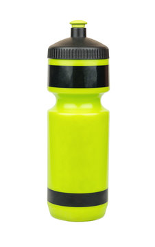 Green sports bottle