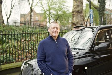 Portrait of a London Black Cab Driver
