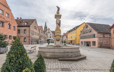 Roth in Franken, Marktplatz