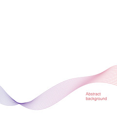 Vector background. Abstract wave element for presentation.