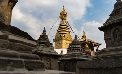 Bouddha Stupa at Kathmandu Nepal