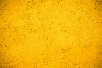 Hand painted yellow Moroccan wall background