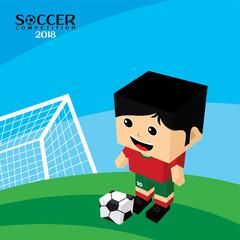 national team soccer tournament 2018