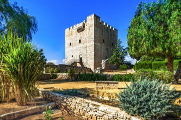 Photo sur Aluminium Chypre Kolossi medieval castle, famous landmark, Limassol, Cyprus