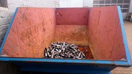 Eisenschrott-Container für Gewerbetreibende