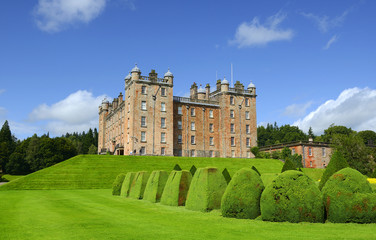 Drumlanrig Castle is one of Britain's grandest castles. Drumlanrig Castle is situated on the Queensberry Estate in Dumfries and Galloway, Scotland.
